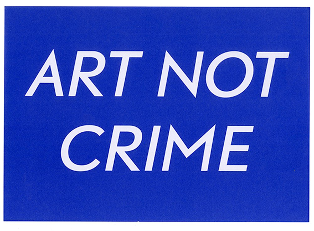 Art Not Crime